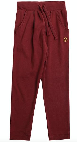 Bilde av bukse burgund katvig
