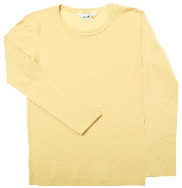 Bilde av genser ull aqua gul