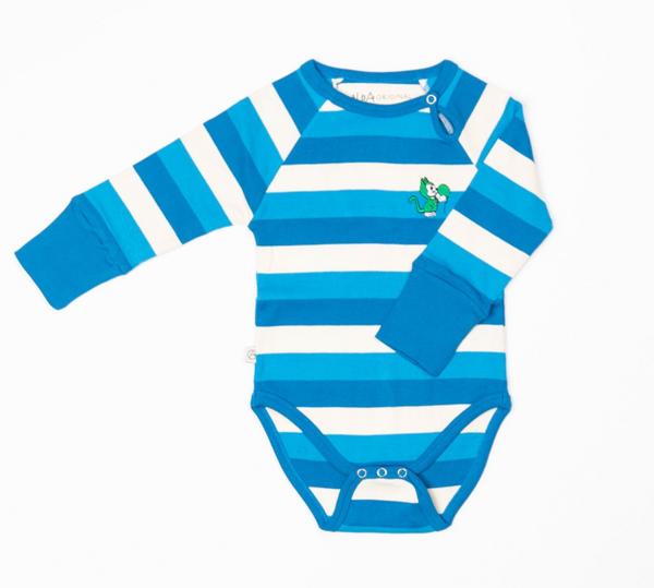 Bilde av body kay snorkel blue stripes