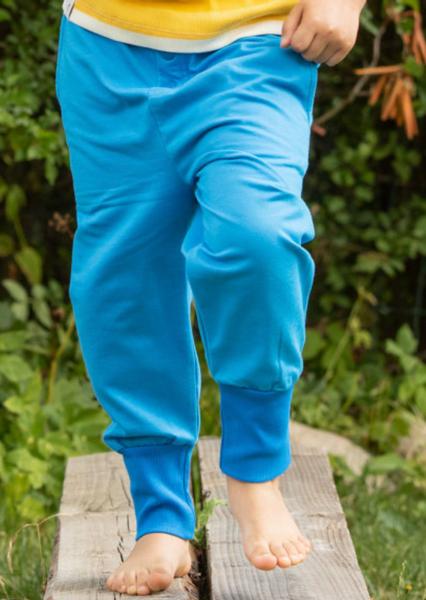 Bilde av bukse button brilliant blue
