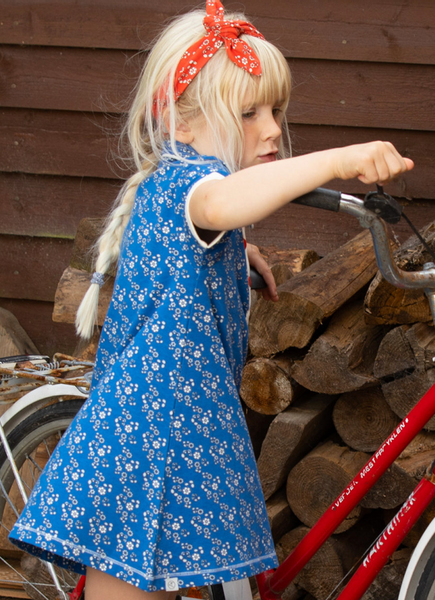 Bilde av kjole julie snorkel blue