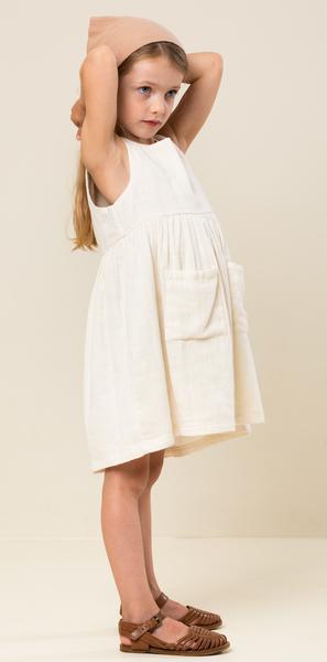 Bilde av kjole duna muslin off white