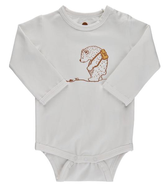 Bilde av body enfant bjørn off white