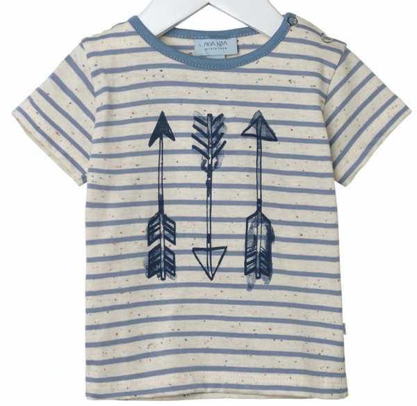 Bilde av t-skjorte boy arrow faded