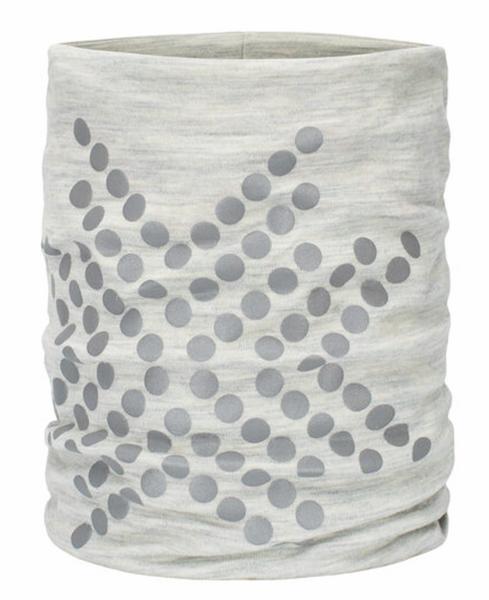 Bilde av Hals sølvfaks lys grå refleks